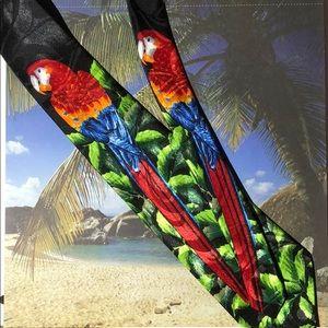 Parrot neck tie Steven Harris